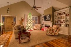 Christmas Night Home